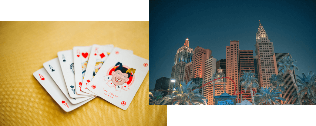 image cards and casino